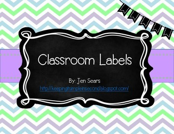 Classroom Labels (Light)