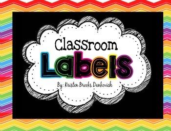 Classroom Labels MEGA pack!