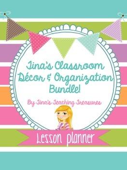 Classroom Labels, Math Manipulative labels & More Classroom Decor
