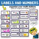 Classroom Labels and Numbers | [Back to School] Classroom Organization