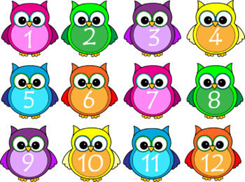 Classroom Labels- Owl Themed- Editable *Back To School*