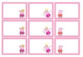 Classroom Labels - Peppa Pig Theme