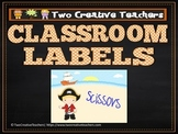 Classroom Labels Pirate Theme 2