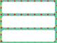 Classroom Labels (Polka Dot Background)