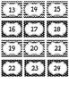 Classroom Labels: Polka Dots & Chevron Stripes