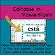 Classroom Labels / Posters (Editable!)  Colorful Starbursts