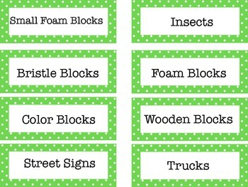 Classroom Labels Pre-K for all UPK center signs