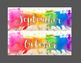 Classroom Labels - Rainbow Watercolor
