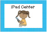 Classroom Labels- Signs for Centers