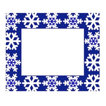 Classroom Labels- Snowflake