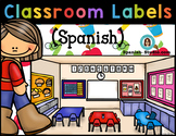 Classroom Labels (Spanish) White background