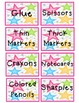 Classroom Labels - Star Themed
