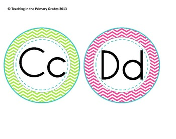 Classroom Labels Super Pack- Green, Blue, Pink and Purple Chevron (Editable)