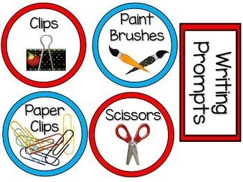Classroom Labels (Superhero Themed)