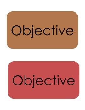 Classroom Labels- Teal Color Palette