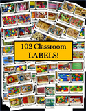 Classroom Labels Toys and Supplies 100+ Pictures
