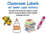Classroom Labels, Word Wall, Flash Cards Great for ELL/ESOL