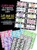 Classroom Labels You Can Edit: Zebra Bundle {1x2 & 2x4}
