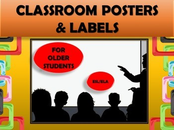 Classroom Decor for Older Students (Yellow) - Classroom Management