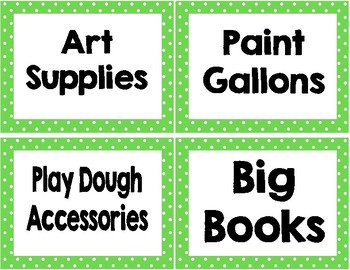 Classroom Labels and Signs BUNDLE