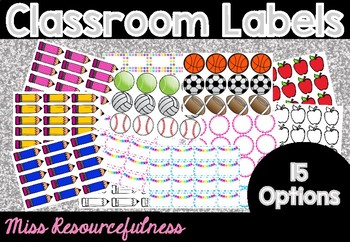 Classroom Labels and Tags