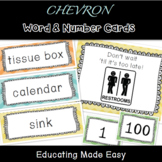 Classroom Words to Label/Write the Room
