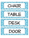 Classroom Labels for ESL/ELL