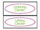 Classroom Labels for Organization:  Pink and Green