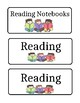 Classroom Labels for Subjects
