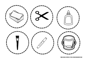 Classroom Labels for Supplies and Cabinets