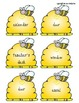 Classroom Labels for a Bee themed classroom!