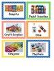 Classroom Labels (polka dot theme)