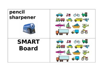 Classroom Labels real picture
