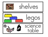 Classroom Labels with Picture