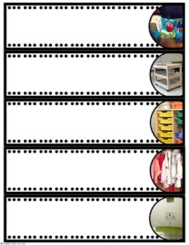 Classroom Labels (with Real Photo Images)