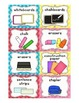 Editable Classroom Labels with Visuals { for Little Learners }
