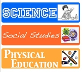 Classroom Labels/Schedule Cards