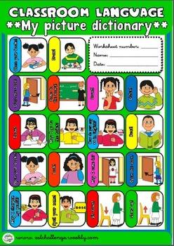 Classroom Language Pack