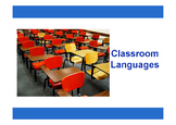 Classroom Languages (ESL Vocab & Conversation