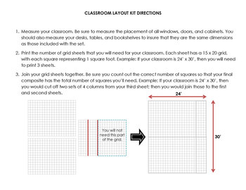 Classroom Layout Kit for All Grades (K-12)