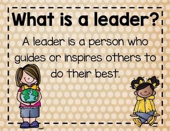 Classroom Leader Roles