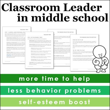 Classroom Leader in Middle School
