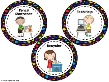 Classroom Leadership Display