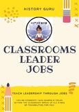 Classroom Leadership Jobs! {History Guru}