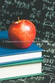Classroom Lens Stock Photo - Apple 2