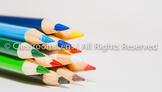 Classroom Lens Stock Photo - Colored Pencils 1