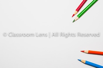 Classroom Lens Stock Photo - Colored Pencils 2