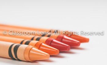 Classroom Lens Stock Photo - Crayons 2