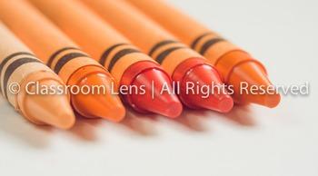 Classroom Lens Stock Photo - Crayons
