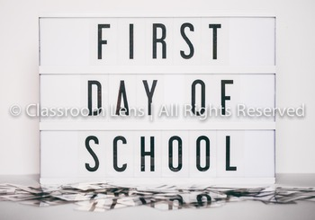 Classroom Lens Stock Photo - First Day of School Lightbox